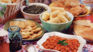 Southern Cuisine Food Spread